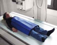 Patientenabdeckung Röntgenschutzwickel