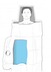 Strahlenschutz-Abdeckungen AS100 MULTI (15 Stück)